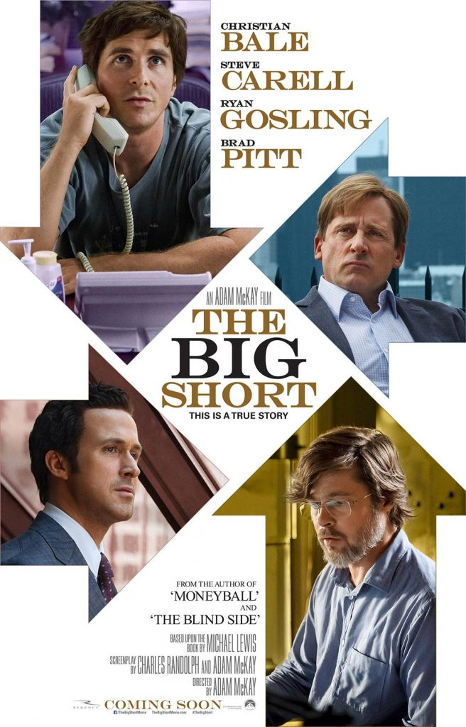 The Big Short theatrical release  poster, source: Wikipedia.com